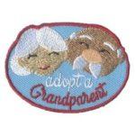 Adopt a Grandparent Girl Scout Patch