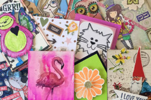 kids artist trading cards