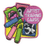 Girl Scout Patch Artist Trading Cards
