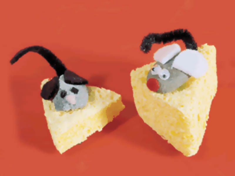 Mouse and Cheese Girl Scout Animal Swap