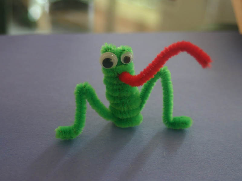 pipe cleaner girl scout animal swap