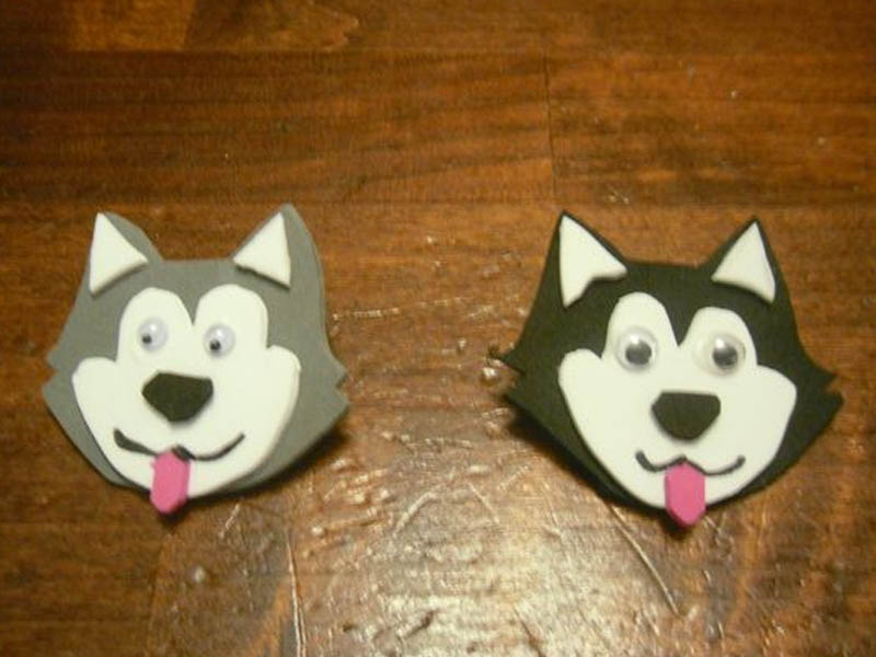 Sled Dogs Girl Scout Friendship Animal Swap
