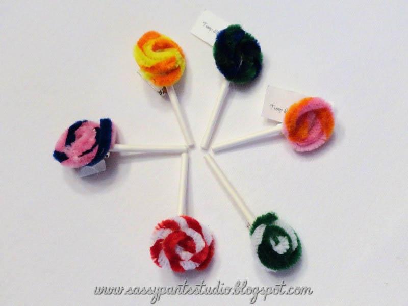 Lollipop Girl Scout Food Swap