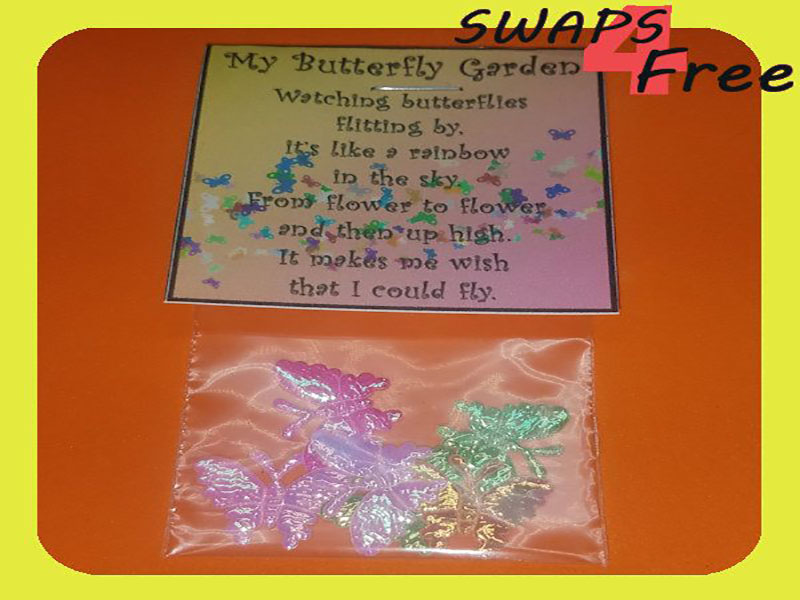 Girl Scouts Butterfly Garden Animal Swaps