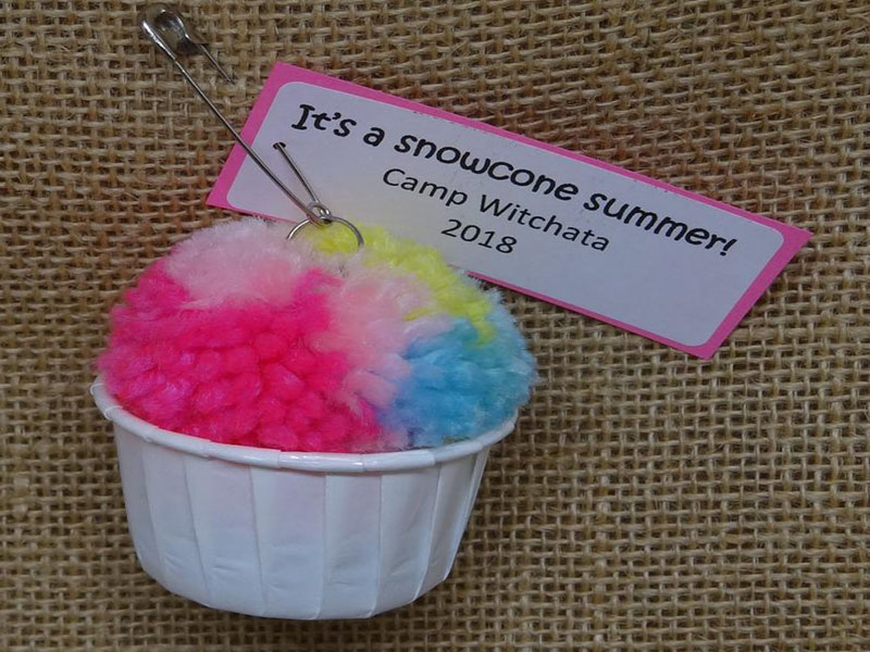 Snow cone swaps for Girl Scout Events