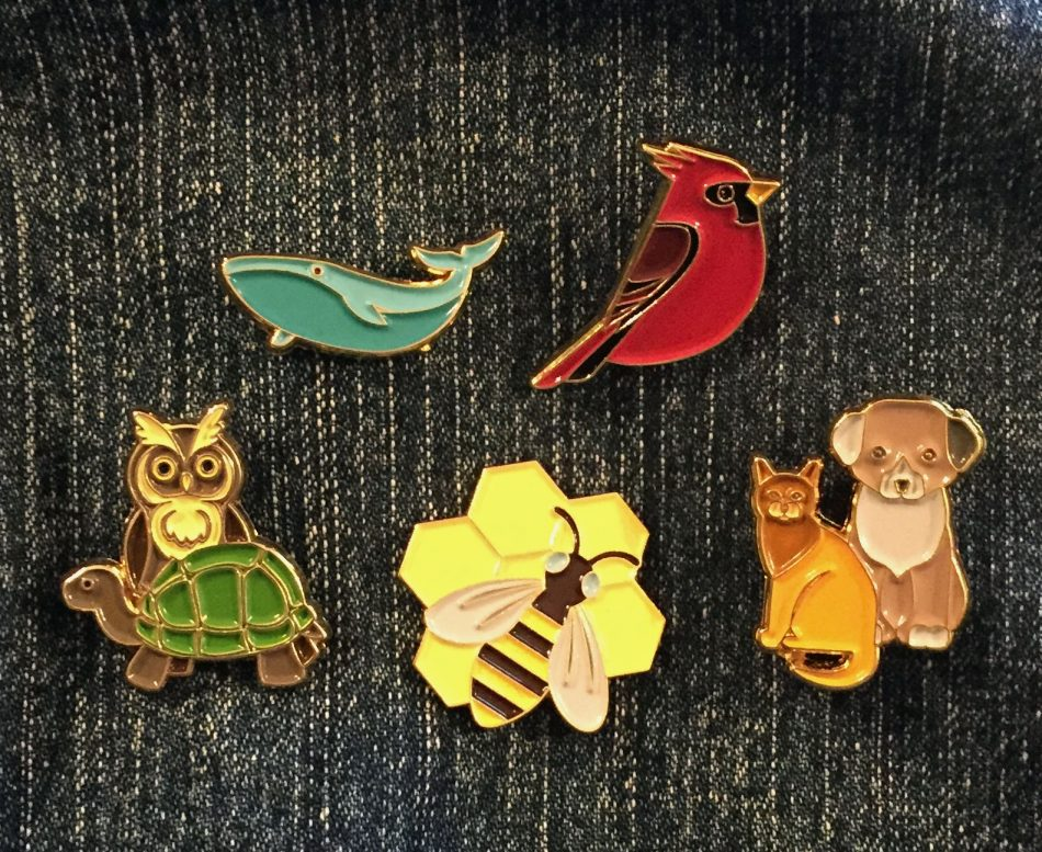 Enamel Pins to Trade