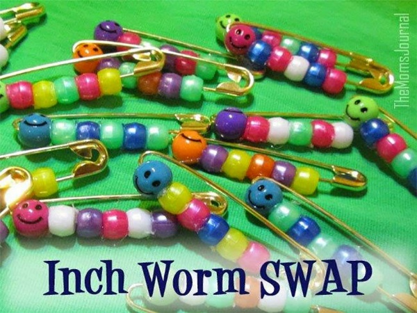 Inch Worm Girl Scout Swap