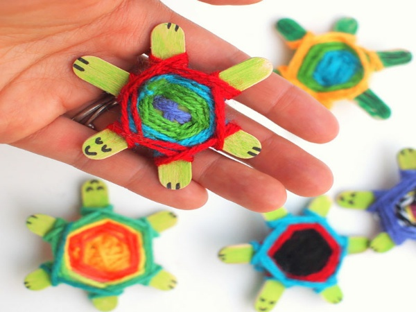 Girl Scout turtle Swaps
