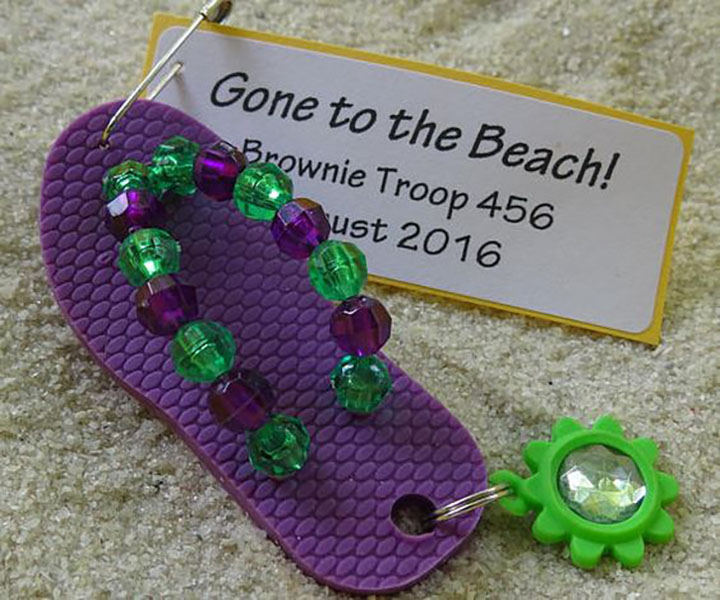 Girl scouts flip flop summer swaps