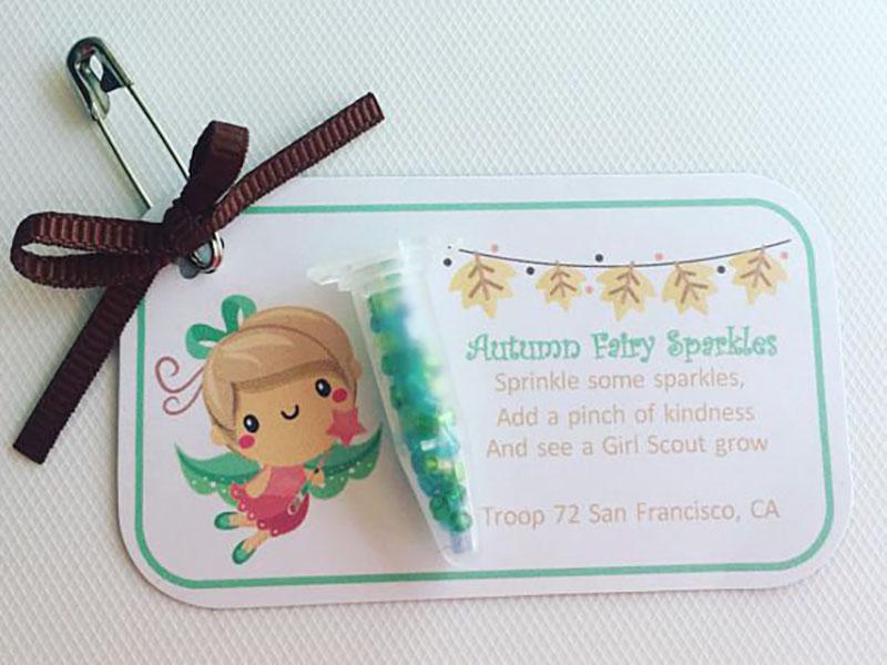 Autumn fairy swaps